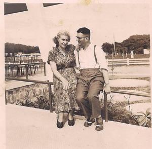 Cecília e Simon na Suécia